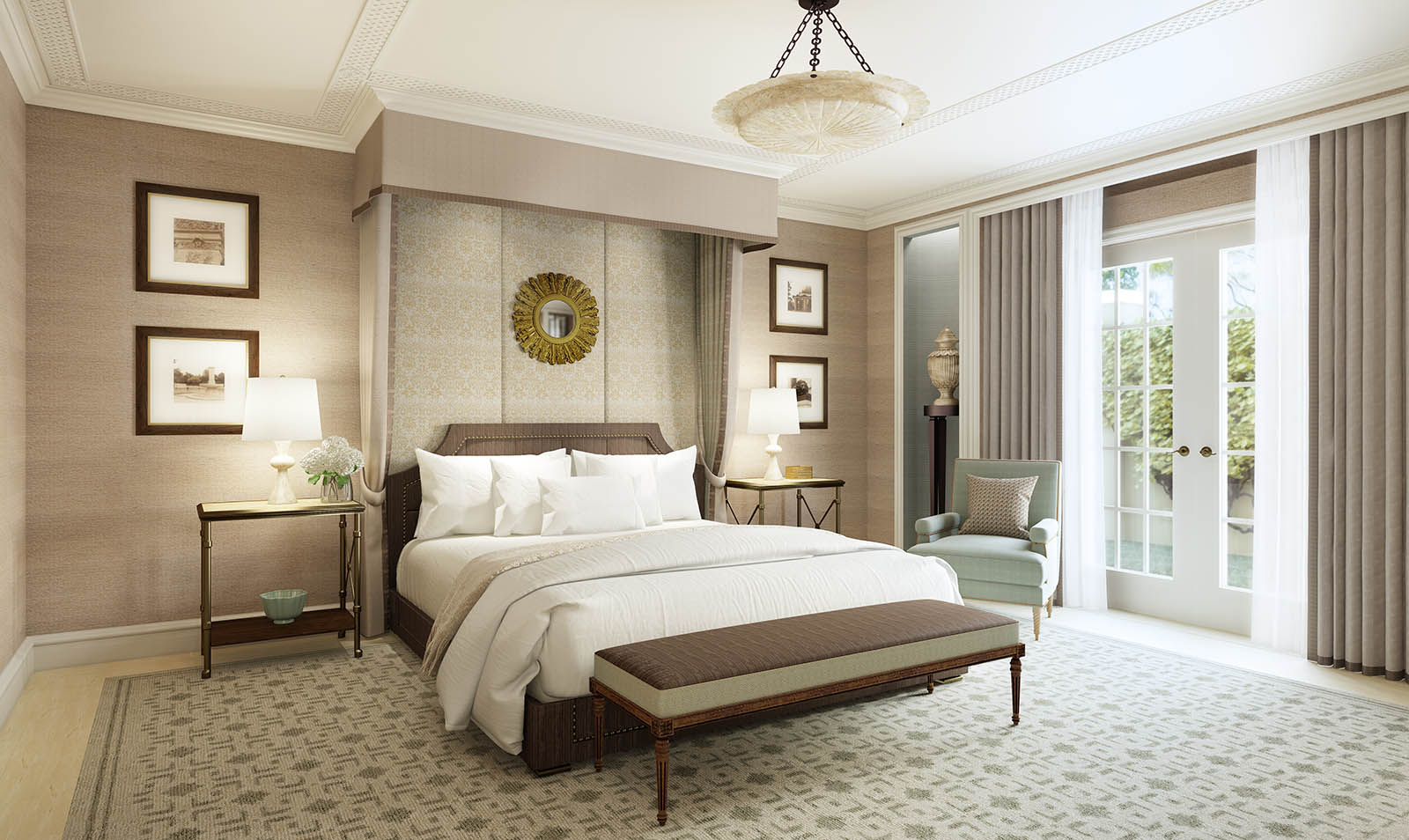 rosewood hotel dallas architectural 3d renderings